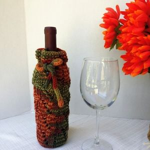 Fall Bottle Cover Bar Essentials Table Linens